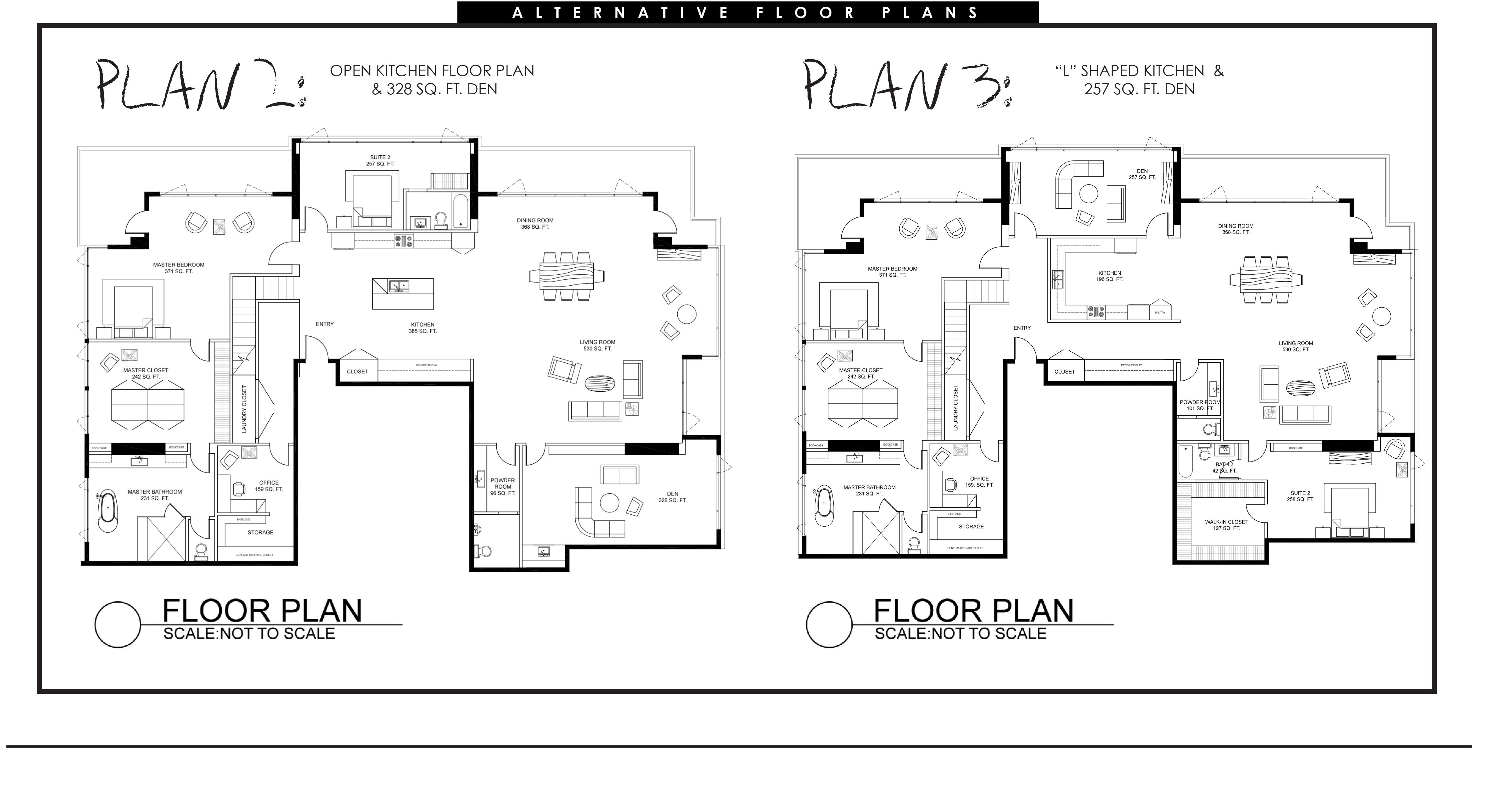 Brandon Riem Design | Space Planning